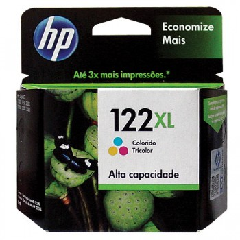 CARTUCHO HP 122XL 6ML COLOR ORIGINAL