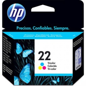 CARTUCHO HP 22 COLOR (6 ml) C9352AB