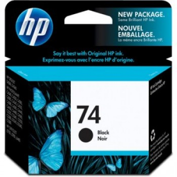 CARTUCHO HP 74 PRETO (5,5 ml) CB335WB