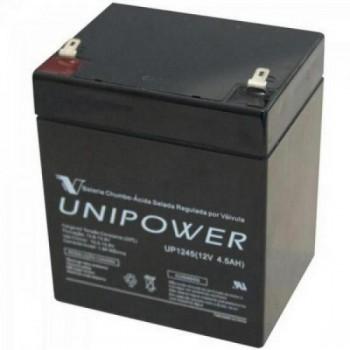 Bateria Selada UP1245 12V/4,5A UNIPOWER