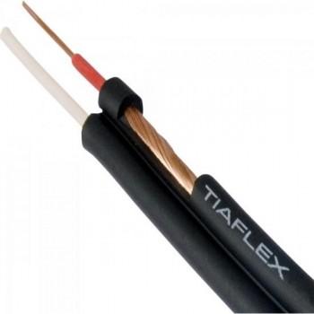 Fio Stereo Philips 3x0,20mm Preto TIAFLEX - RL / 100