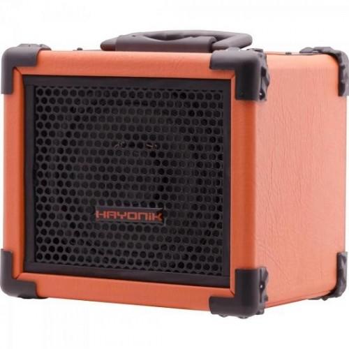 Caixa Multiuso 20W Bluetooth/USB/SD/FM IRON 80 Laranja HAYONIK