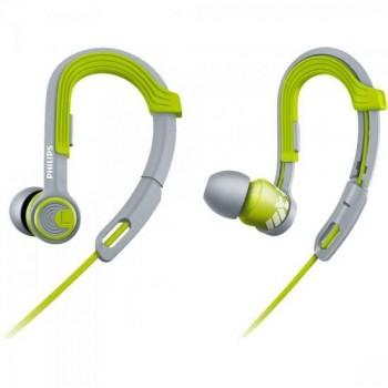 Fone de Ouvido Esportivo Gancho Ajustável SHQ3300LF/00 Verde PHILIPS
