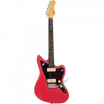 Guitarra Woodstock TW61 Fiesta Red TAGIMA