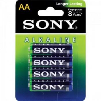 Pilha Alcalina AA AM3L-B4D Sony Caixa c/48 pilhas (cartela c/4) - BLI / 48