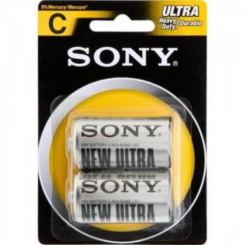 Pilha Zinco C SUM2-NUB2A Sony Caixa c/24 pilhas (cartela c/2) - BLI / 24