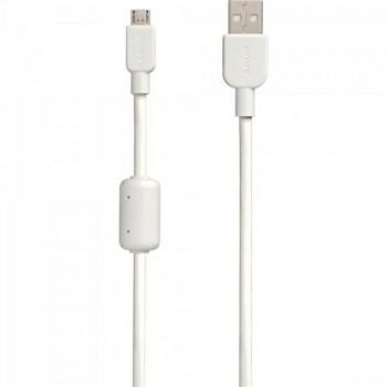 Cabo de Transferência e Carregamento Micro USB CP-AB150 1,5m Branco SONY