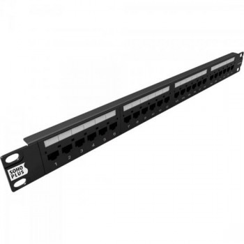Patch Panel CAT6 T568A/B 24P SOHOPLUS