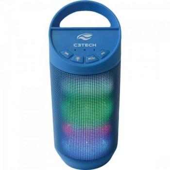 Caixa Multimídia 8W RMS Bluetooth SP-B50 Azul C3TECH