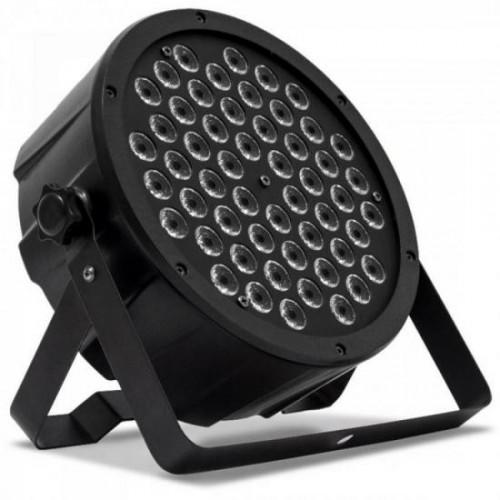 Aparelho de Iluminação MEGA PAR LED 54 RGBW Preto PLS