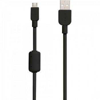 Cabo de Transferência e Carregamento Micro USB CP-AB150 1,5m Preto SONY