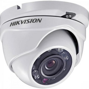 Camera Dome Flex (4 em 1) 2,8mm 20M Plastico DS-2CE56D0T-IRPF Branca HIKVISION