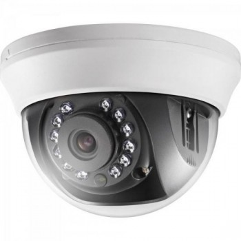 Camera Dome HD-TVI-IR 20M 3,66mm DS-2CE56C0T-IRMMF Branca HIKVISION