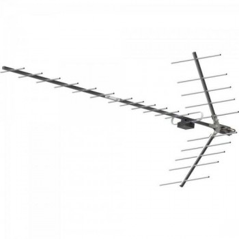 Antena UHF Digital Yagi Alto Ganho Banda Total 15 DBI PROHD-1115 Cinza PROELETRONIC