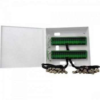 Rack Organizador para CFTV BNC 32 Canais MAX ELETRON