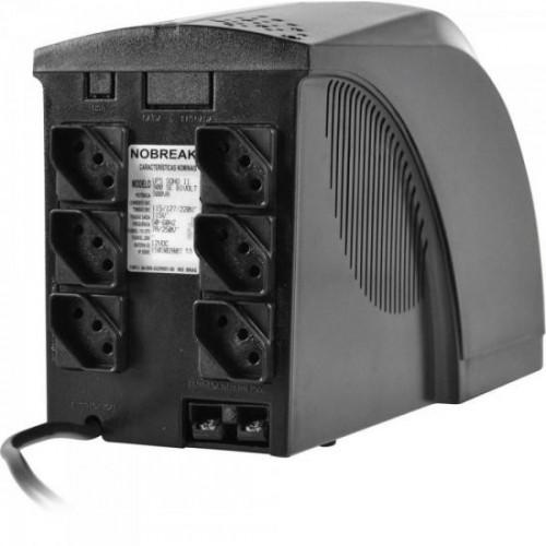 Nobreak 1000VA Power Ups Bivolt 1BS SOHOII Preto TS SHARA
