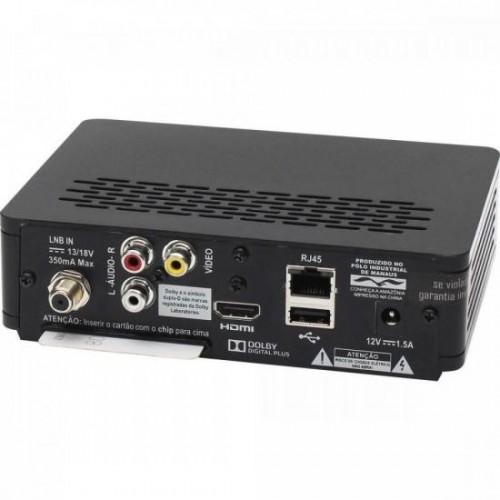 Decodificador OI TV HD SES6 BEDINSAT