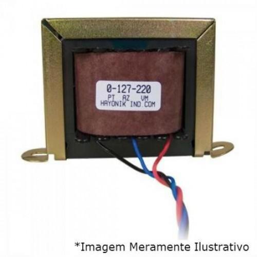 Transformador 9+9VAC 127/220VAC 280mA 9/800 HAYONIK