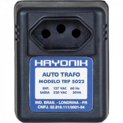 Auto Transformador Parede 127/220VAC 50VA TRP 5022 Preto HAYONIK